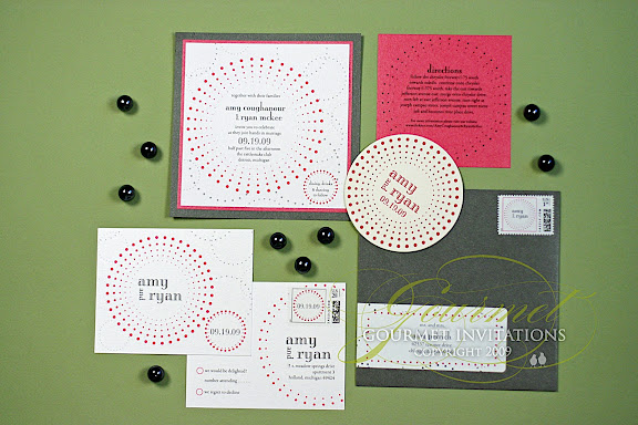 Gourmet Invitations Rattlesnake Club wedding with TwoFoot creative wedding planner