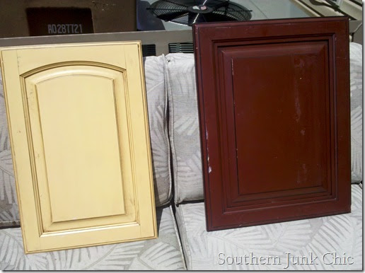 Southern Junk Chic Upcycled Cabinet Door Chalkboard Designs