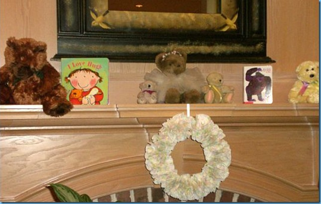 wreath and mantle