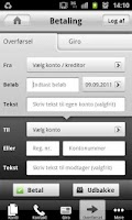 Screenshot of Mobilbanken