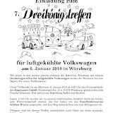 Käferclub Würzburg, 7. Dreikönigstreffen