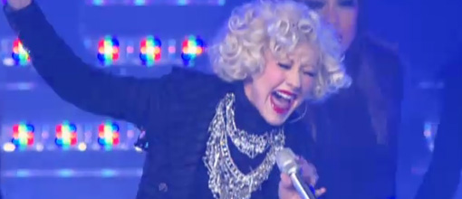 Live performance: Christina Aguilera performs 'Not myself tonight' on The Oprah Winfrey show