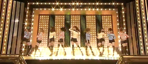 The SNSD-bots' 'Show! Show! Show!' it on Inkigayo
