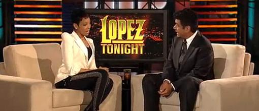 Monica on 'Lopez tonight'