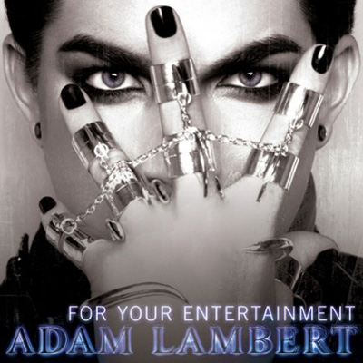Adam Lambert's 'For your entertainment' single cover