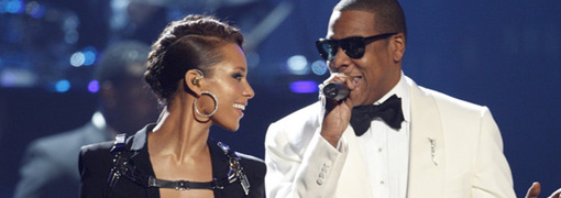 Jay-Z and Alicia Keys' performance at the 2009 American music awards