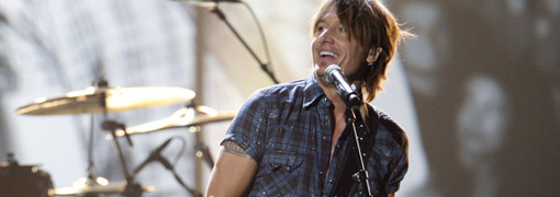 Keith Urban's performance at the 2009 American music awards