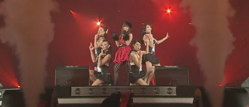 Kumi Koda performs 'Lick me' at Best hit Kayousai
