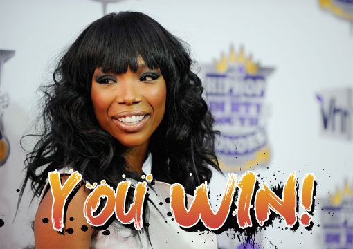 Brandy's wig at the VH1 Hip hop honours is a winner! | image 'shopped by J ;P