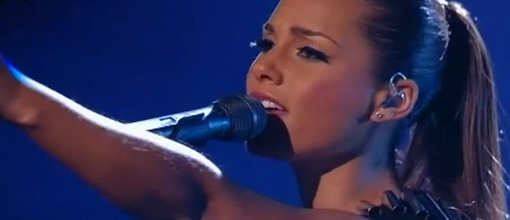 Alicia performs 'Try sleeping with a broken heart' at Britain's got talent | Live performance