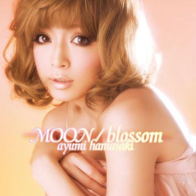 Ayumi Hamasaki - Moon / Blossom | Single cover