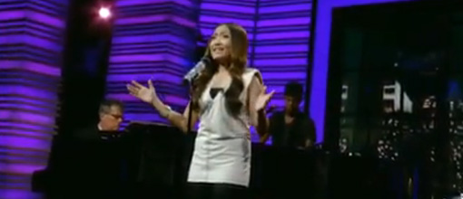 Charice performs 'In this song' on Regis & Kelly | Live performance