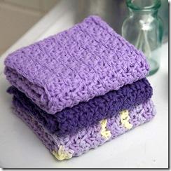 VioletDishcloths