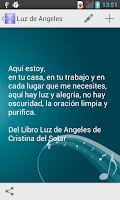 Screenshot of Luz de Angeles
