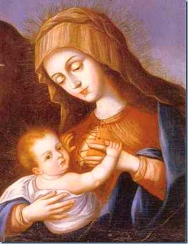 La Bella María y su Bebe Jesús