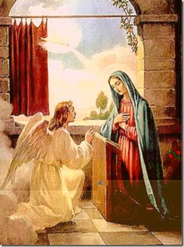 La Anunciación a la Bella María