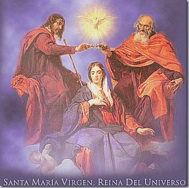 LA BELLA MARÍA ES REINA DEL UNIVERSO