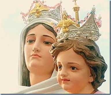 Bella María de San Nicolas coronada