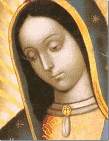 Bella María de Guadalupe cuida a mi México
