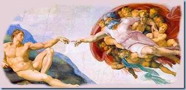 Creación del hombre Miguel Ángel