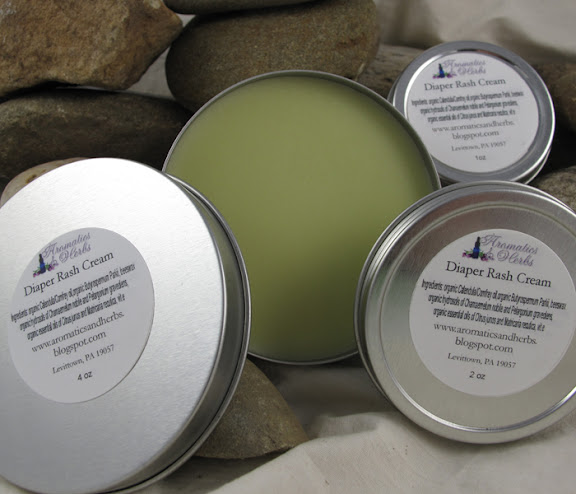 Organic Diaper Rash Cream- 4 oz