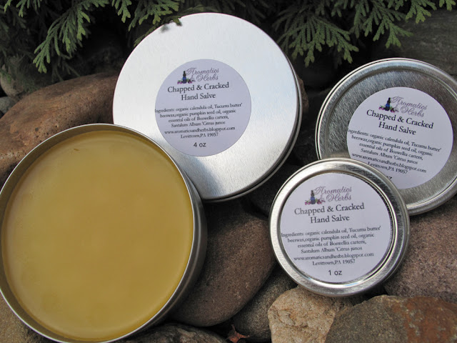 Organic Hand Salve, Great for gardening hands- 2 oz