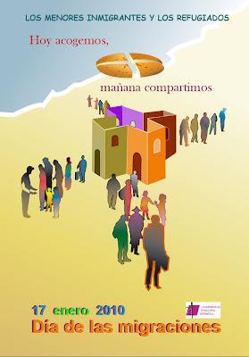 Cartel de la Jornada de Migraciones