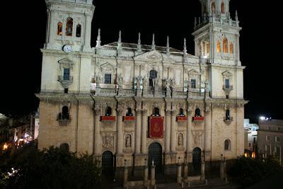 Concierto de Santa Cecilia en la fachada de la Catedral
