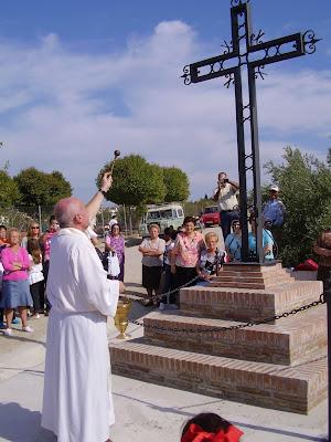 Bendición de la Cruz de San Roque