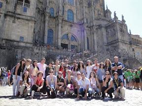Peregrinación a Santiago de Compostela 2010