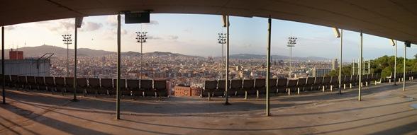 Barcelona vista desde Montjuic