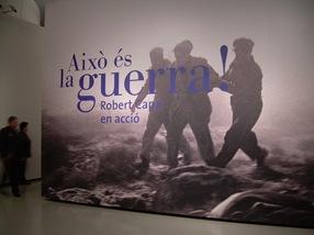 Això és la guerra! Robert Capa en acció, MNAC, Barcelona