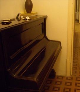 el piano de mi casa