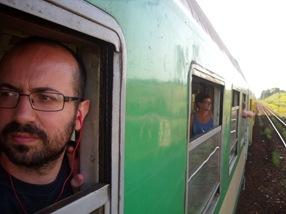 autofoto, tren Breslavia-Cracovia