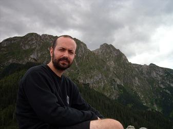 en el pico Sarnia Skala, Altos Tatras
