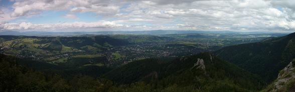 vista desde el Sarnia Skala, Altos Tatras