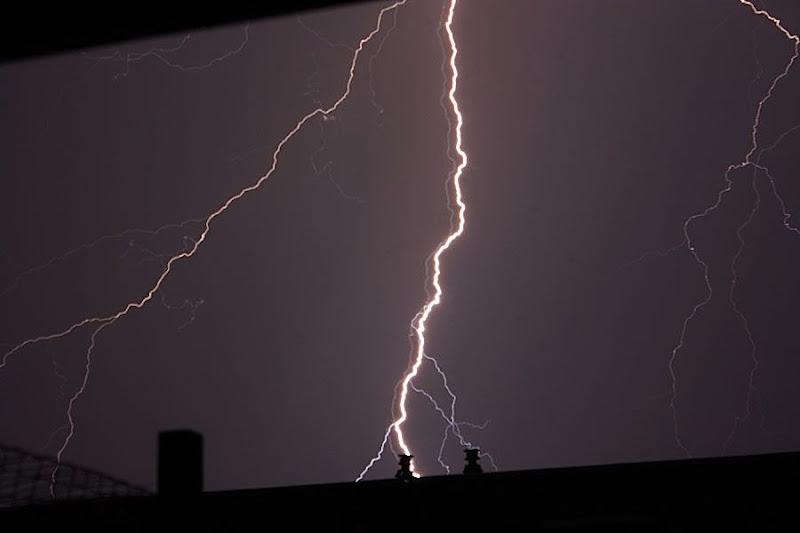 onweer Zoetermeer 25-05-2009