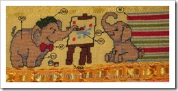 toalhinhas de Nicolle (3) com indicação de cores