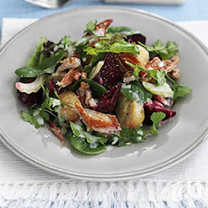 Warm Mackerel & Beetroot Salad