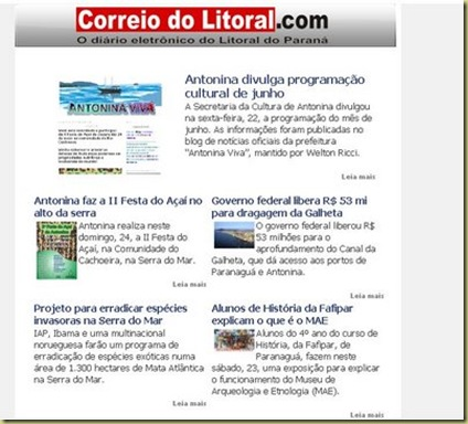Correio do Litoral