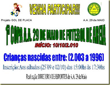 1ª Copa Futebol 29