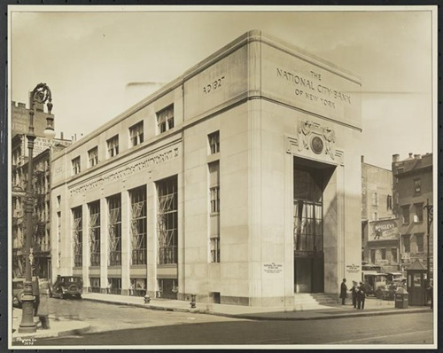 MNY36030 1928 NAtional City Bank branch