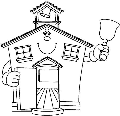 clip art school house. school clipart