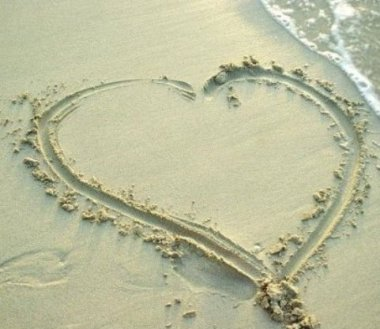 Hope you like todays image of a heart in the sand. Love can be like sand and