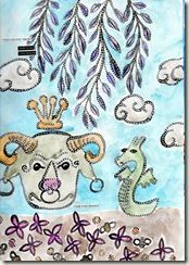 bull journal page august 2009