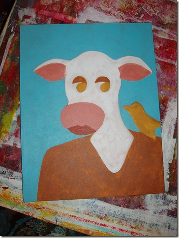 cow in process