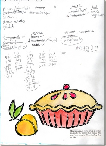 pie shopping page august 2009