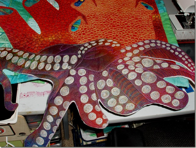 octopus and quilting three