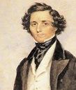 Portrait of Mendelssohn by the English miniaturist James Warren Childe (1778–1862), 1839