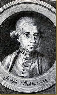 Portrait of Josef Mysliveček